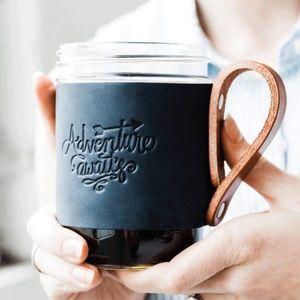 ISO Portland Leather Goods mug hugger